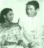 suraiya with gregory peck