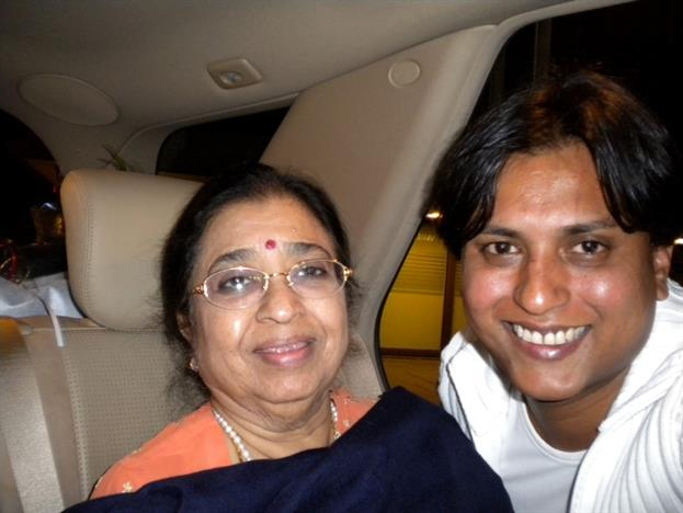 Sanam with Usha Mangeshkar